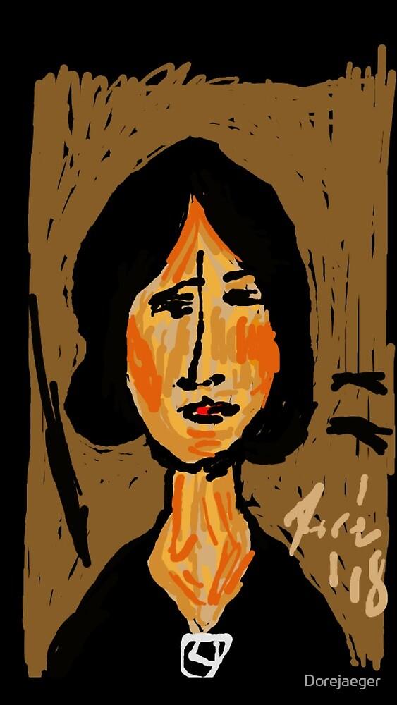 Modigliani by Dore' by Dorejaeger