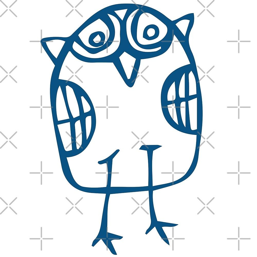 Owl 11 by Jezli Pacheco