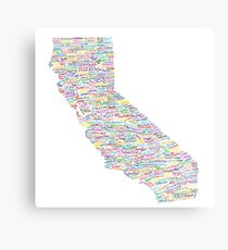 California Vibes Metal Print