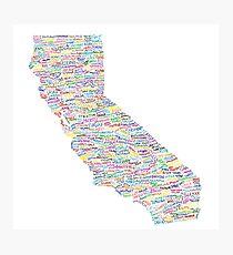 California Vibes Photographic Print