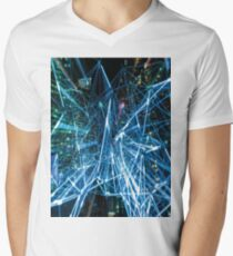 ART BLUR 2 Pop Art Men's V-Neck T-Shirt