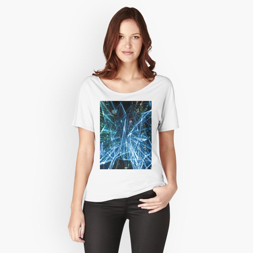 ART BLUR 2 Pop Art Women's Relaxed Fit T-Shirt Front