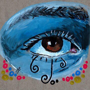 """eye study #1"" by JLavallee-Art"