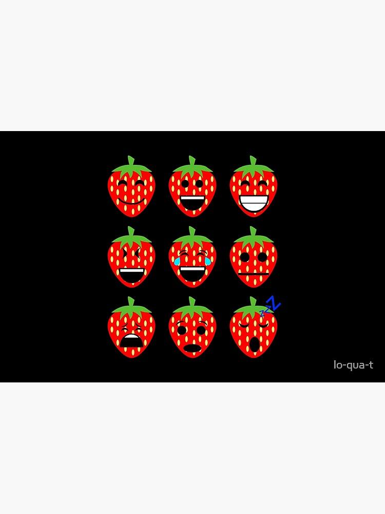 Erdbeere Emojis von lo-qua-t