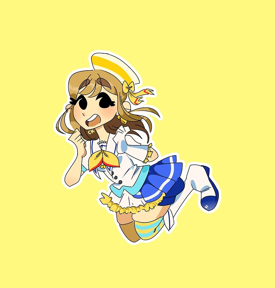 aozora jumping heart hanamaru kunikida - love live sunshine by cookiechi