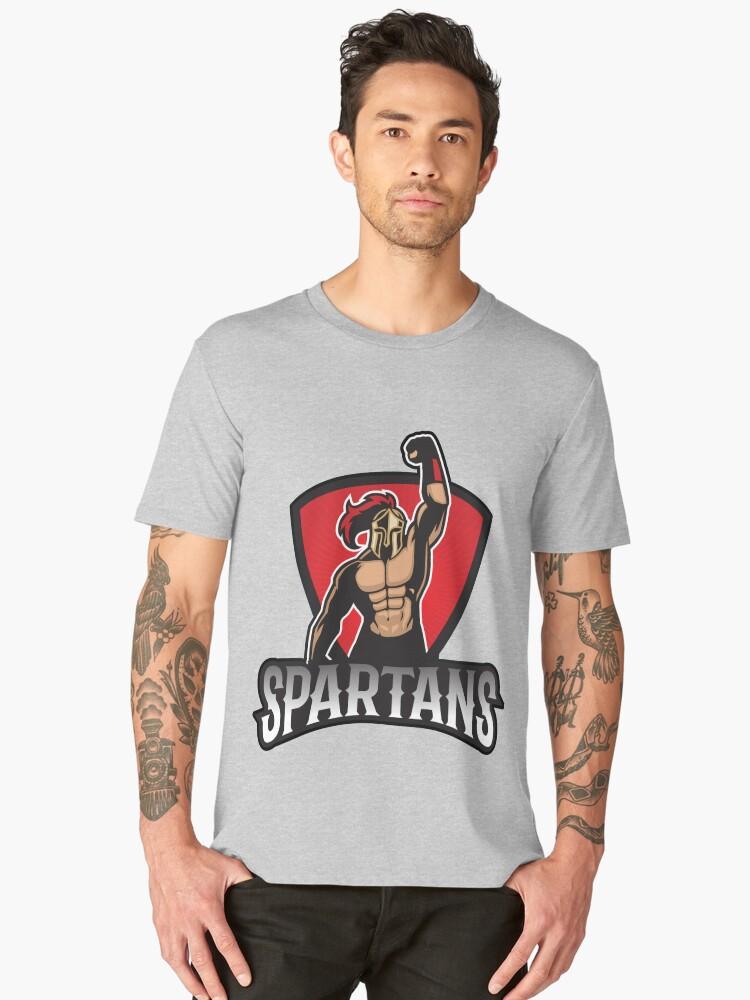 Spartan  Men's Premium T-Shirt Front