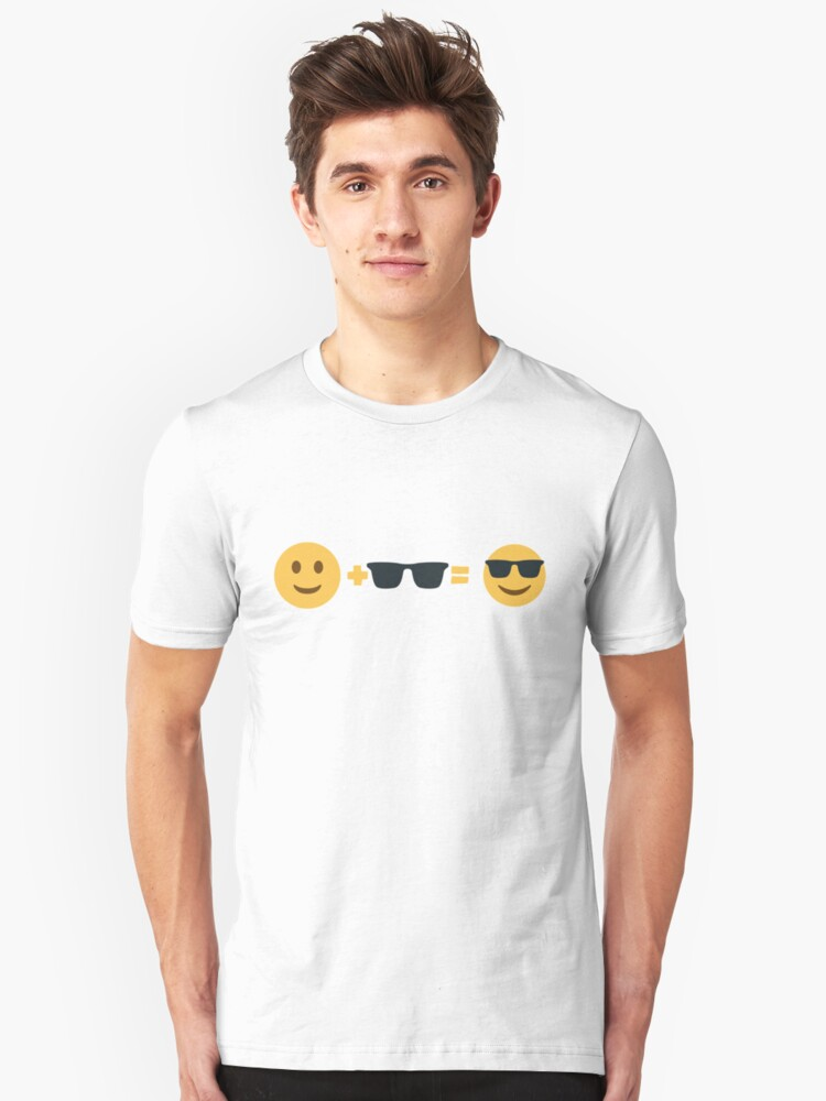 Me, Sunglasses, Awesome Unisex T-Shirt Front