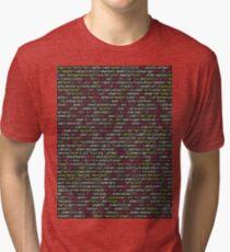 COMPUTER CODE Pop Art Tri-blend T-Shirt