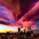 Sunset in Denver by marinakay