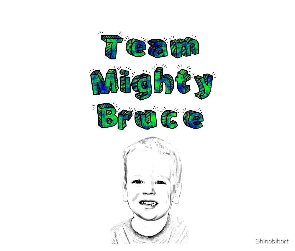 Team Mighty Bruce Fundraiser  by Shinobihort