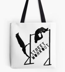 STREET WORKOUT Tote Bag