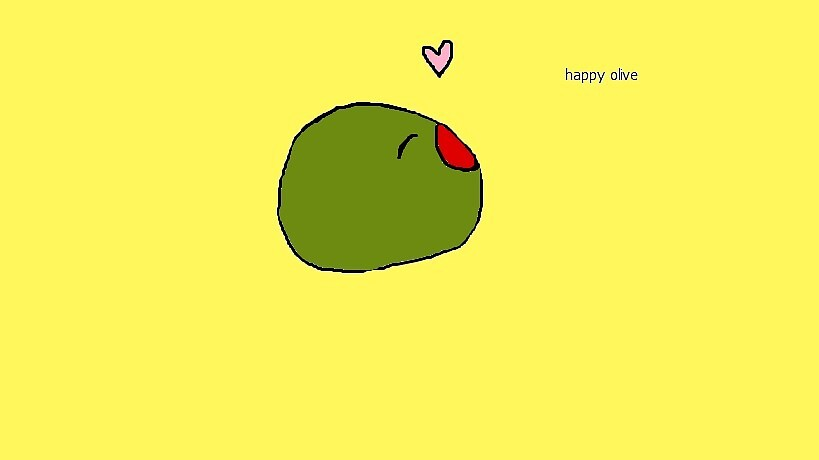 happy olive by snart0