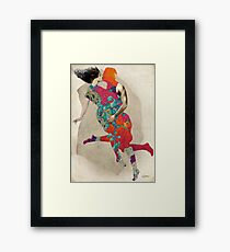 Love is a Tango Framed Print
