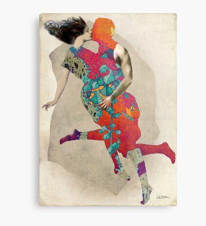 Love is a Tango Metal Print