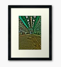The BIG Empty Framed Print