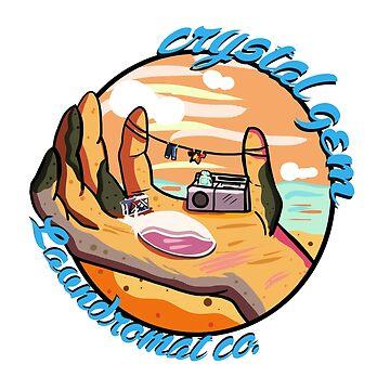 Crystal Gems Laundromat Co. by GoldDustGypsy