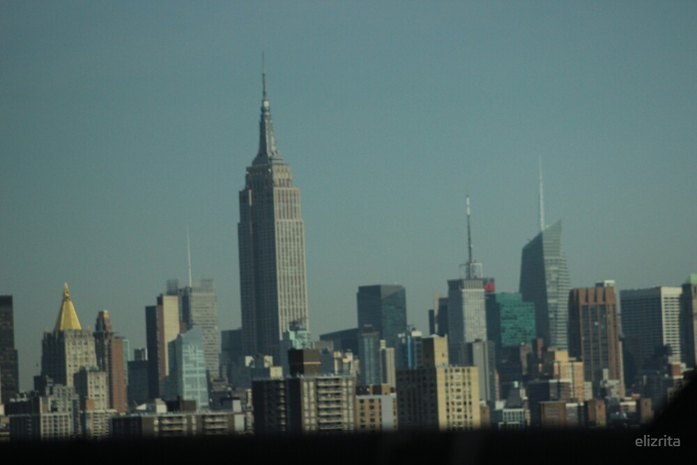 New York City Skyline by elizrita