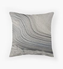 Tidal Drift Throw Pillow