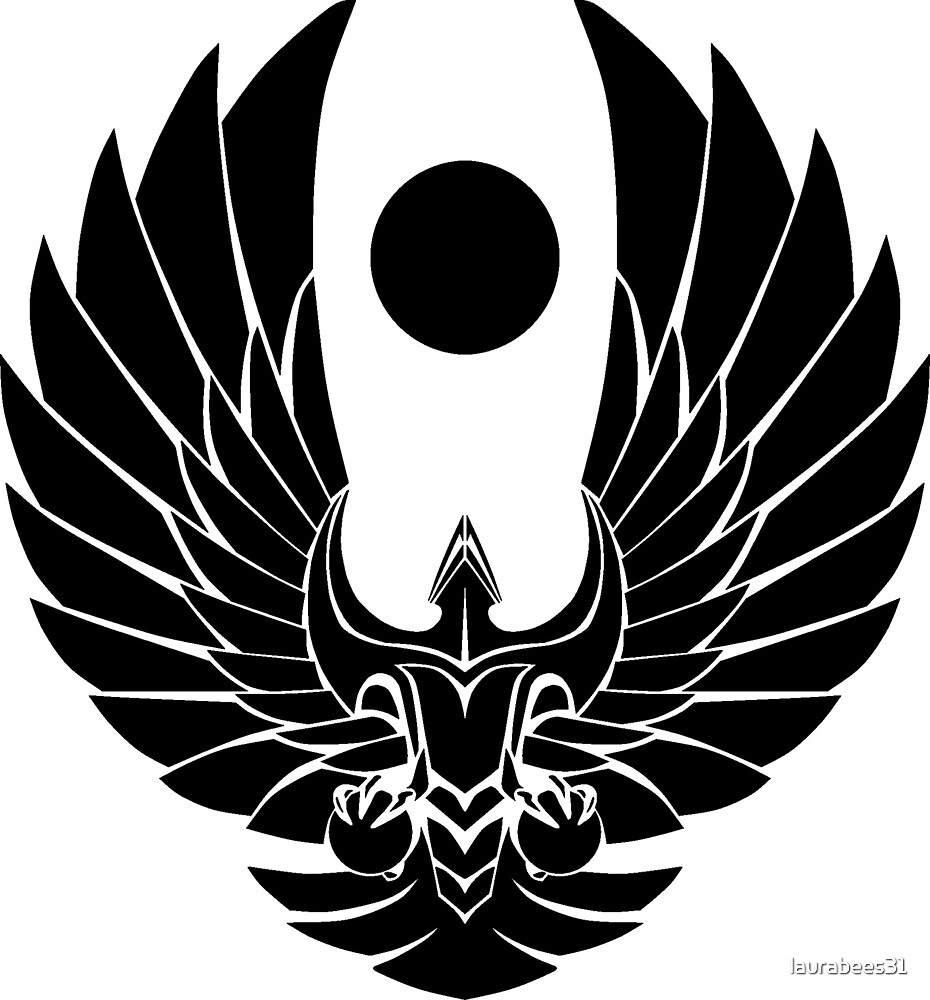 Romulun Empire Symbol Star Trek by laurabees31