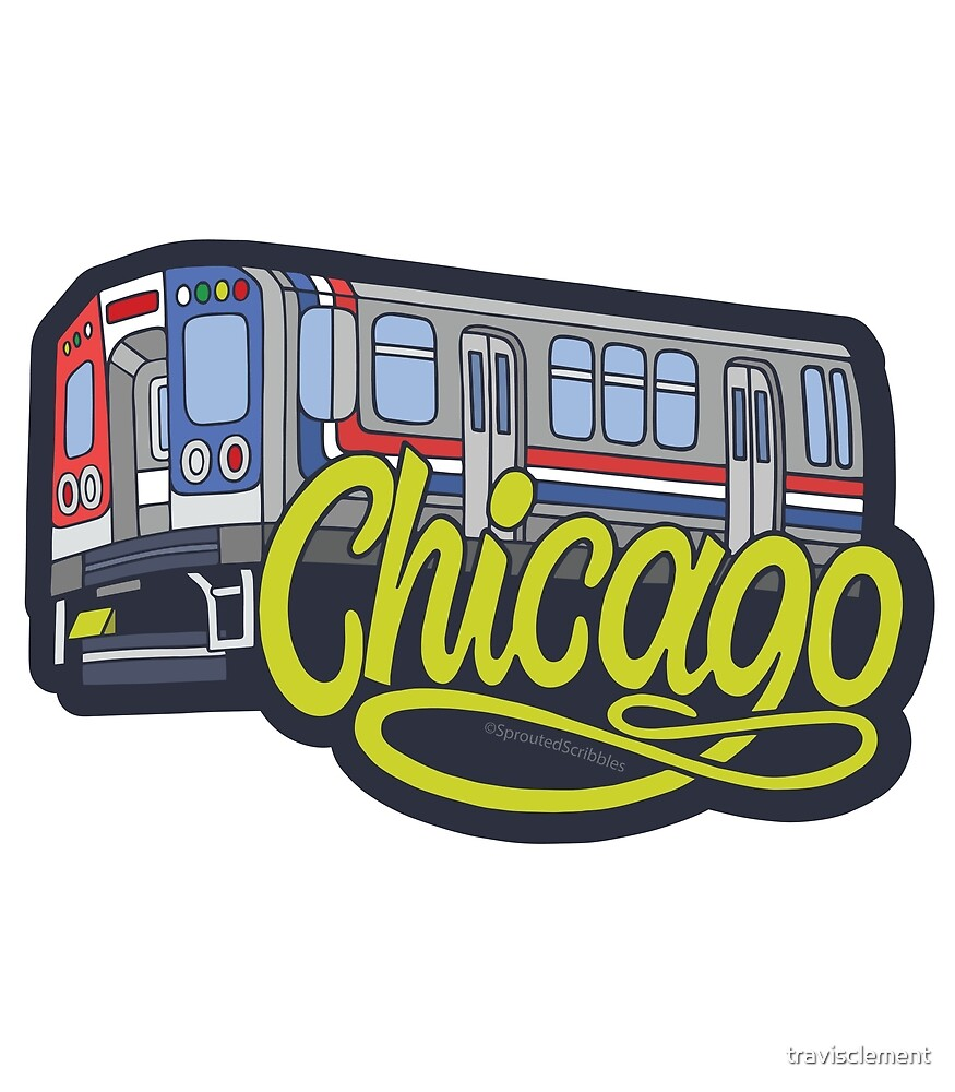 Chicago L Train by travisclement