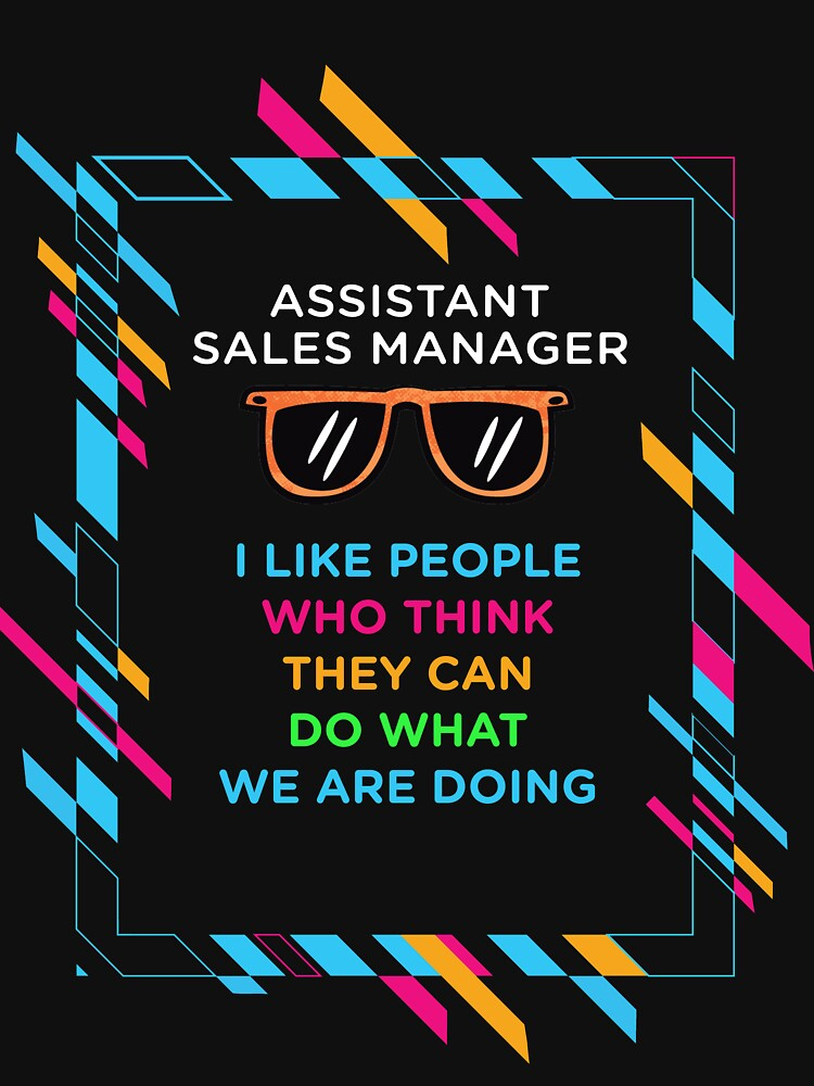 ASSISTANT SALES MANAGER by Kassidti