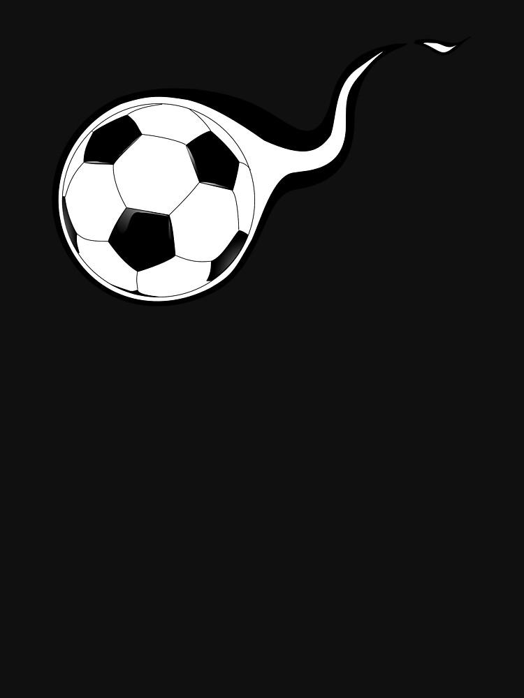 Football shot flames game WM by Kampfkeiler