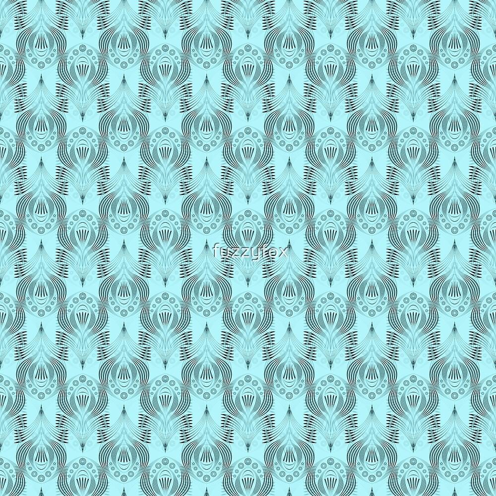 Turquoise Deco by fuzzyfox
