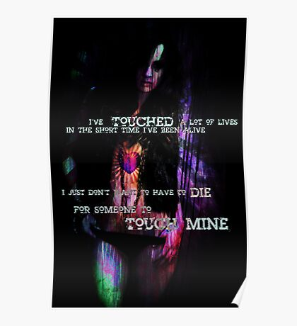 Touch mine  Poster