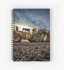 Tiling Machine Spiral Notebook