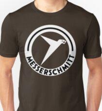 Messerschmitt Aircraft Logo -White- (No Label) Unisex T-Shirt