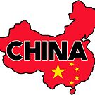 CHINA TRAVEL LUGGAGE STICKER by BYRON