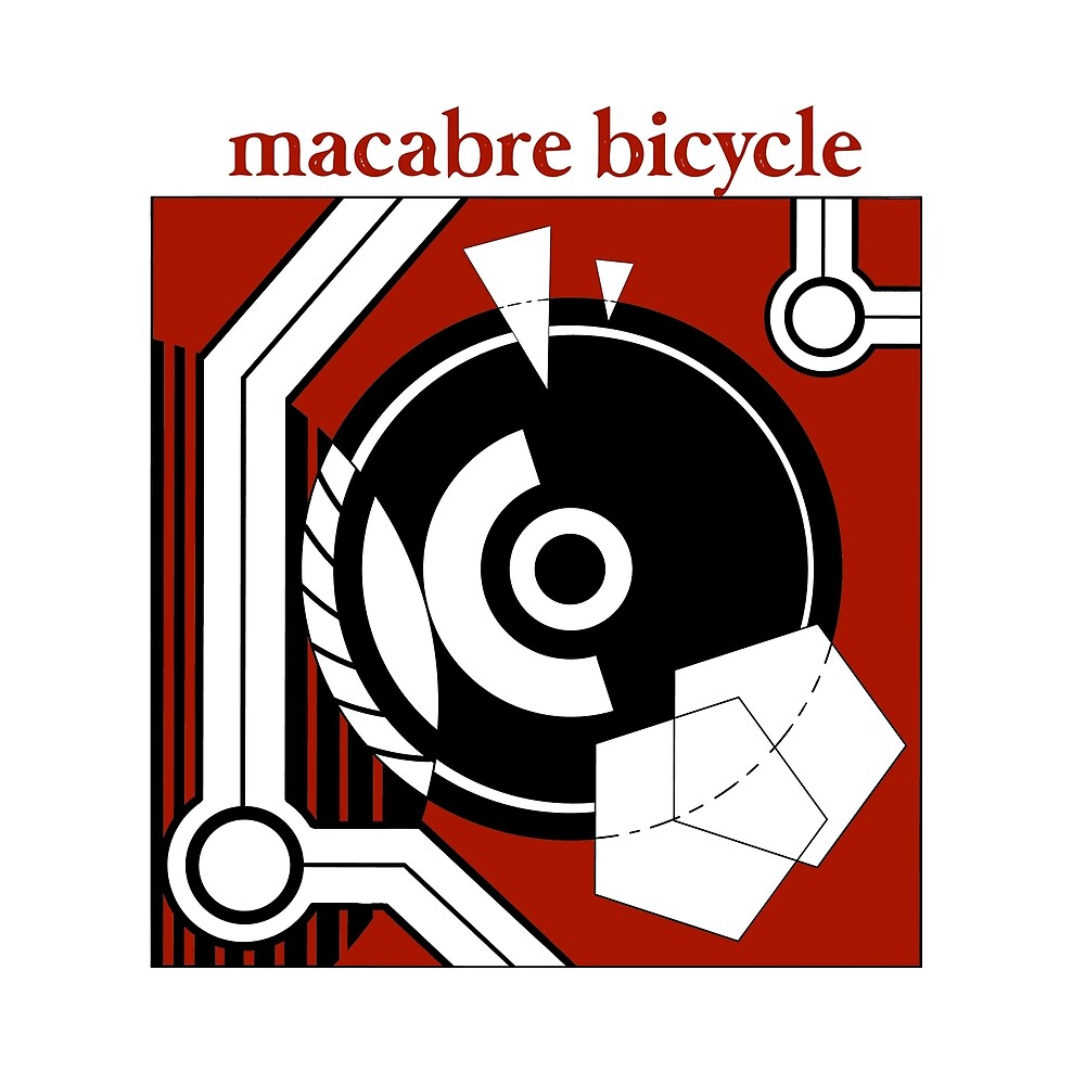 Macabre Bicycle Black Hole album cover by ShakeBelton