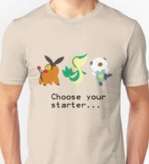 5th Gen Starters T-Shirt