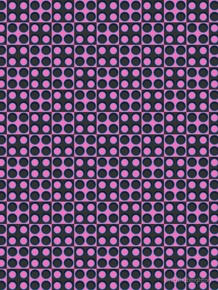 Pattern - 'Pink Dice'. by timothybeighton