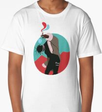 "LA FLAME ""I"" Long T-Shirt"