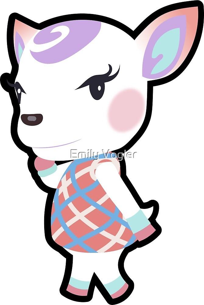 Animal Crossing - Diana by Emily Vogler