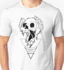triumph crown skull clock Unisex T-Shirt
