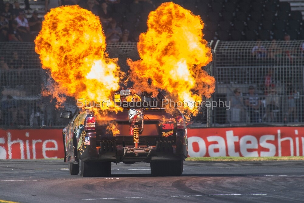 Ready to Burn.........Rubber by Stuart Daddow Photography