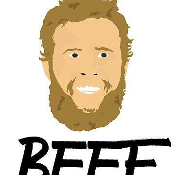 Andrew Beef Johnston Pro Golfer Design Fan Art by Andrewkgolf