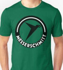 Messerschmitt Aircraft Logo -Black- (No Label) Unisex T-Shirt