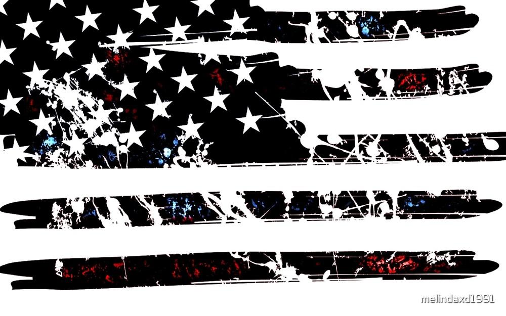 USA Flag by melindaxd1991