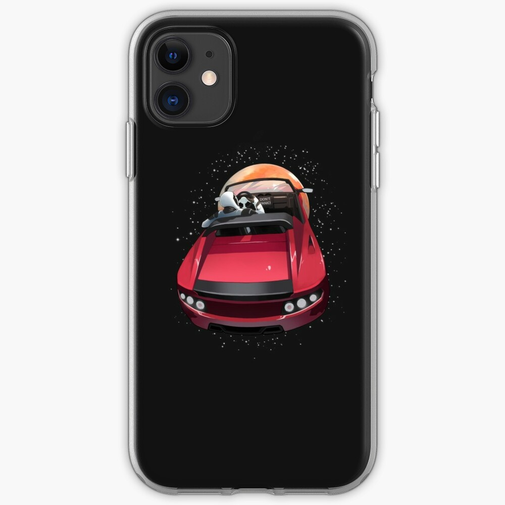 Tesla SpaceX Roadster Falcon Heavy NASA iphone case