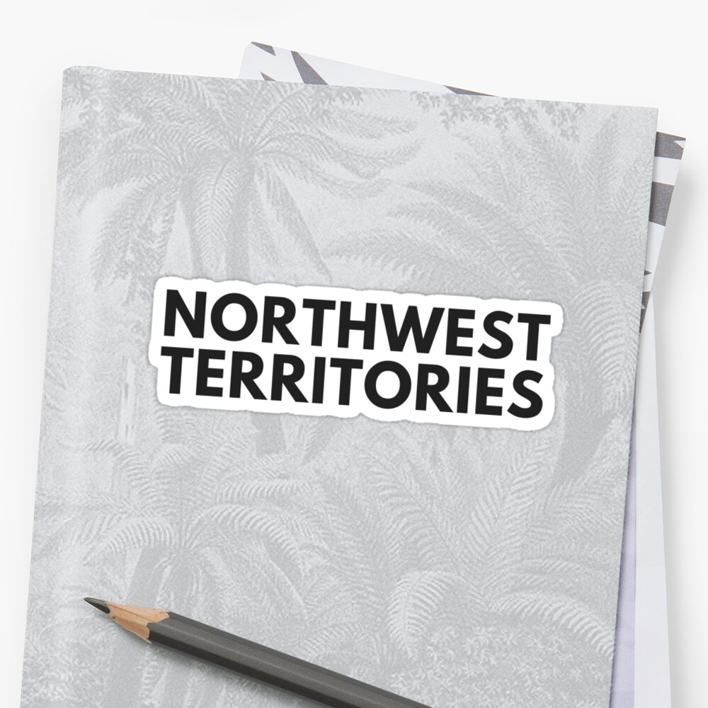NORTHWEST TERRITORIES • BLACK • BOLD by kassander