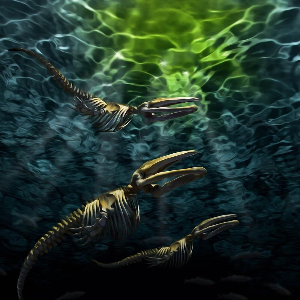 Majestic Cetaceans by Gregory Saxon