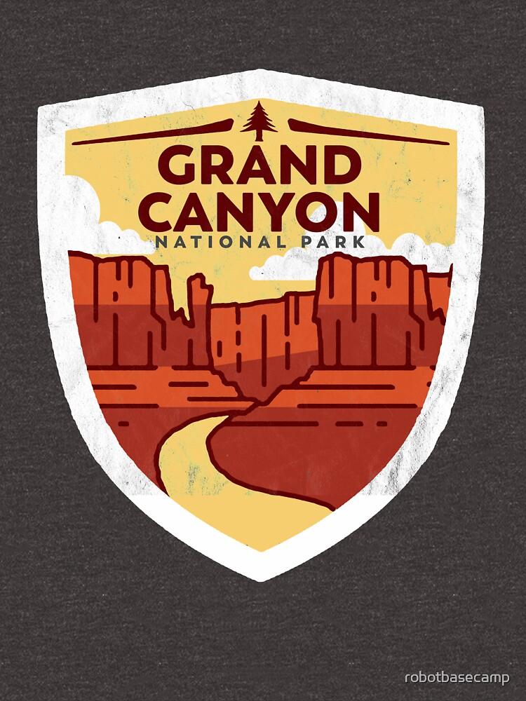 Grand Canyon National Park Vintage Badge Design   by robotbasecamp