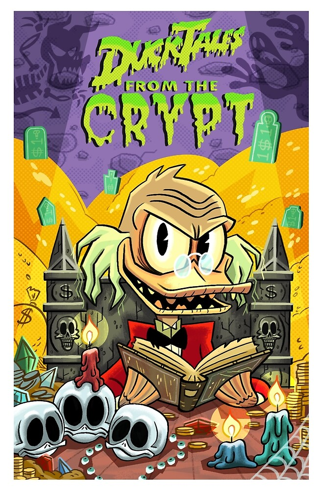 Duck Tales From The Crypt by KenTurner