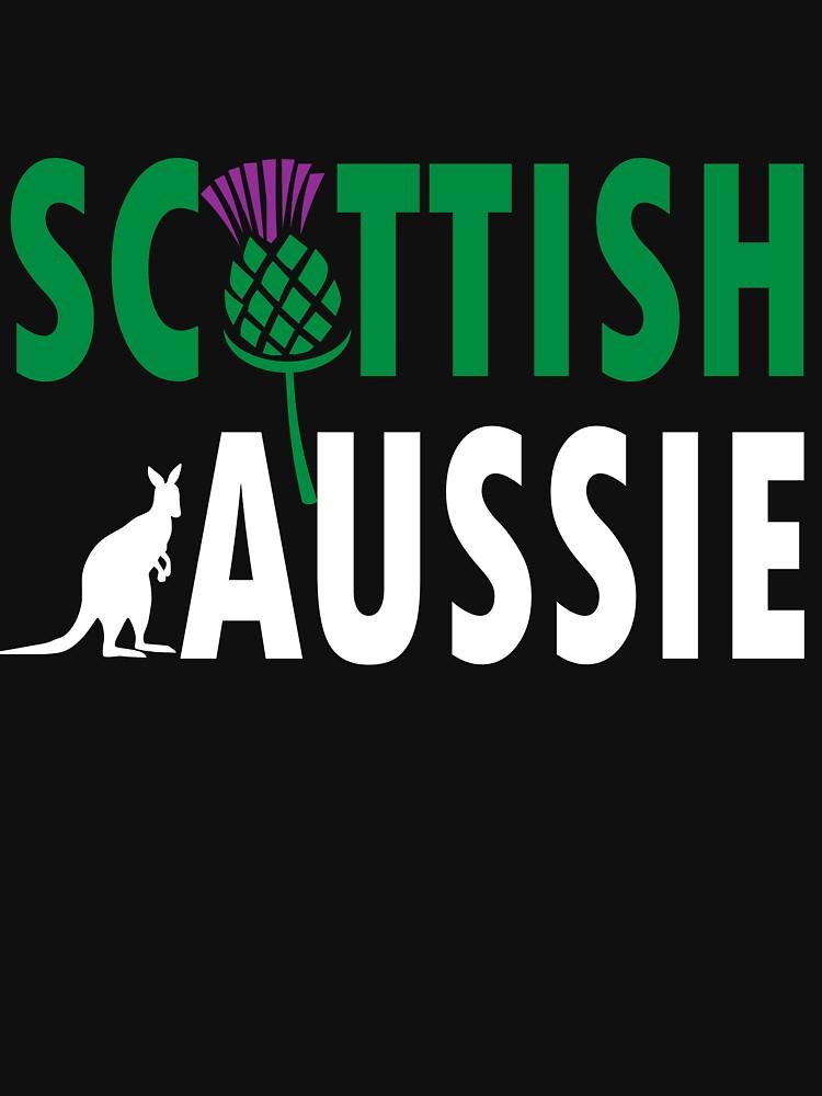 Scottish Aussie (for dark backgrounds) by honeythief