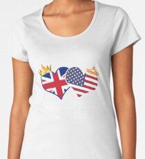 Royal Weddign 2018 Harry and Meghan  t-shirt Women's Premium T-Shirt