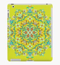 Colorful  Ethnic Floral Kaleidoscope iPad Case/Skin