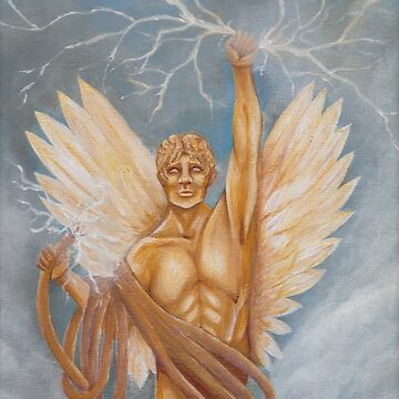 Golden Boy | God of Electricity | Lord of Communication by Leanore